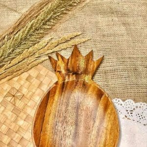 Bowls Wooden Pineapple Plate buy local