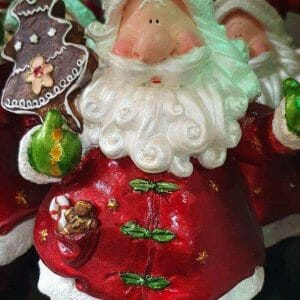 Figurines 6″ Santa Claus Figurines All about Christmas