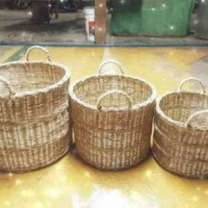 Planters Wicker Basket with Handle basket