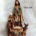 The Holy Family Figures Resin